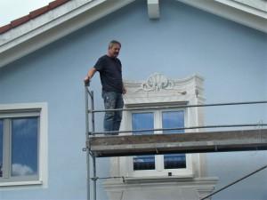 Wandgemälde Weilheim